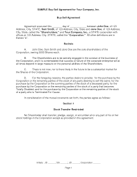 Business Buyout Agreement Template 10 Best Images Of Purchase Sell Agreement Sample Buy Sell