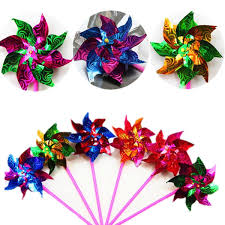 online cheap bag windmill spinner pinwheel whirl colorful