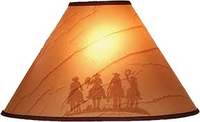 themed l shades western themes cowboy style lamp shades your western