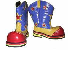 clown boots professional model 42