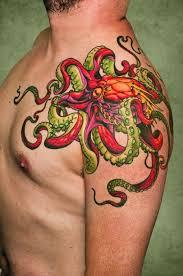 bright octopus tattoo revenge of the nerds pinterest octopus