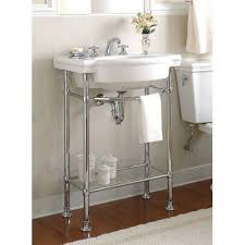 Table Legs At Home Depot American Standard Retrospect Console Table Legs In Polished Chrome