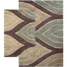 Three Piece Bathroom Rug Sets by Maroon Bath Rug Set Creative Rugs Decoration