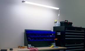 Led Shop Ceiling Lights by Led Shop Light Fixture Chain Mount Or Ceiling Mount
