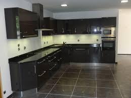 cuisine laqué noir cuisine noir laque et collection et cuisine laquee des photos
