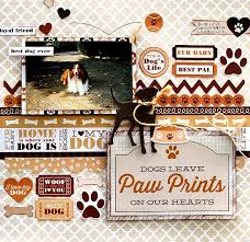 dog scrapbook album 406 best dog scrapbook layouts images on scrapbook