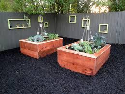 vegetable garden wall houzz