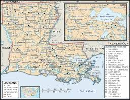 louisiana geographical map historical louisiana map atlas dot highway map collection