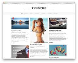 20 best pinterest style wordpress themes 2017 colorlib