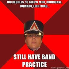 Band Practice Meme - have courage be kind was gonna reblog a million band memes