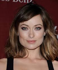 medium length hairstyles brown hair olivia wilde medium layered cut shoulder length hairstyles