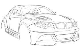 bmw 135i sketch by dazza mate on deviantart