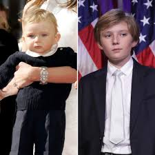 Donald Trump Family Pictures by Donald Trump U0027s Youngest Son Barron Trump Looks So Grown Up At