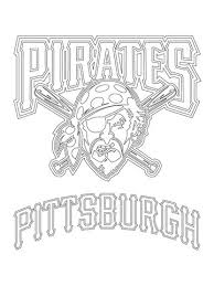pittsburgh pirates logo coloring page free printable coloring pages
