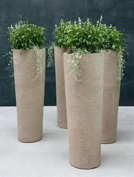 modern ceramic wall planters modern outdoor ceramic pots eco