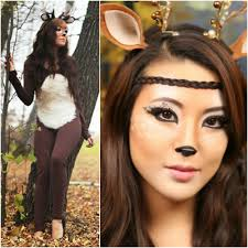 Deer Halloween Makeup by How Fashion Bloggers Do Halloween 14 Costume Ideas Fashion Fade