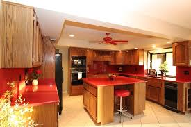 Formica Kitchen Countertops Magnificent Big Lots Red Kitchen Island With Red Formica Kitchen