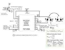 wld3343 3a laser diode driver