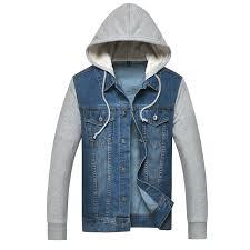jean sweater jacket cheap mens denim hooded jacket find mens denim hooded jacket