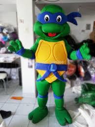 Blue Ninja Turtle Halloween Costume Teenage Mutant Ninja Turtle Mascot Character Halloween Party