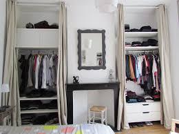 rideau placard chambre rideau penderie ikea fashion designs