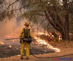 Wildfires California September 2015 by Firefighters On The Valley Fire Aided By The Weather U2013 Wildfire Today