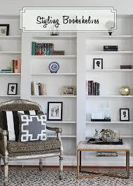 Bookshelf Styling New Library Bookshelves From Ikea Billy Bookshelves Styled 11
