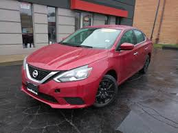 nissan sentra 2017 red used 2017 nissan sentra sv in lansing