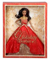 amazon com barbie collector 2014 holiday african american doll