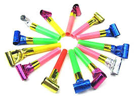 party horns ziggle 30 pcs whistles blowouts whistles party horns for