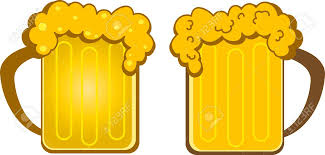 beer cartoon creative cartoon design of beer mug royalty free cliparts vectors