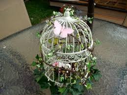 birdcage centerpieces my diy birdcage centerpiece almost complete
