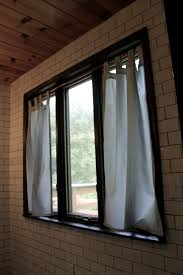 Curtains For Bathroom Windows by Tab Top Curtains For Bathroom Window Ridgeside