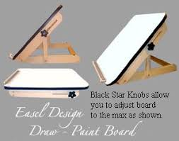 Drafting Table Woodworking Plans Table Top Draw Paint Easel Watercolor Inspiration Pinterest