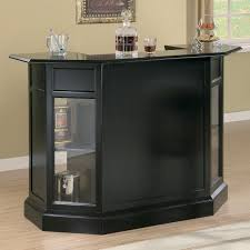 Portable Bar Cabinet Furniture Brown Wooden Bar Cabinet With Doors