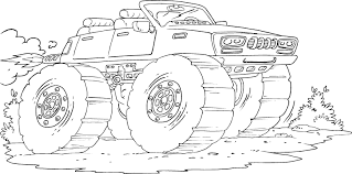 jet truck coloring page monster truck with jet engine coloring page coloring com