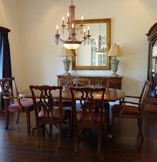romweber thornhill house collection mahogany dining room set ebth