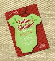 Christmas Baby Shower Invitations - printable baby shower invitation christmas holiday baby boy baby