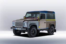 land rover british british countryside u0026 military inspires one off land rover