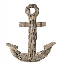 Anc Home Decor Amazon Com Dimond Home Driftwood Anchor Home U0026 Kitchen