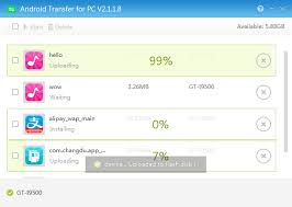 transfer apk files from pc to android android transfer for pc
