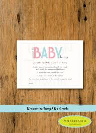 instant upload baby shower game chevron pink u0026 blue measure the