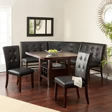 Dining Room Tables With Benches Home Design 79 Excellent Corner Dining Room Tables