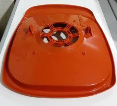 genuine flymo hover hood for l47 2 stroke petrol hover mower
