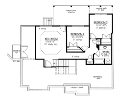 ranch style house plan 3 beds 2 5 baths 2303 sq ft plan 437 77