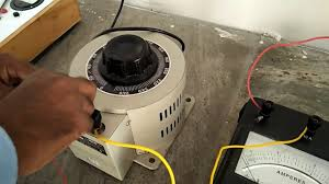 connection of open circuit test of single phase transformer youtube