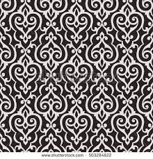 arabesque vintage abstract floral seamless pattern stock vector