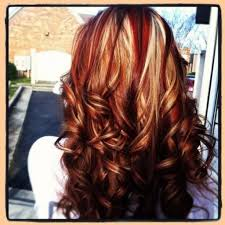 Light Brown Hair Blonde Highlights Light Brown Hair With Red And Blonde Highlights Medium Brown With