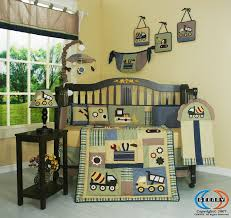 Boy Nursery Bedding Set by Amazon Com Geenny Musical Mobile Baby Boy Constructor Nursery