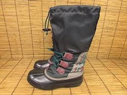 womens boots made in canada vintage sorel freestyle s winter boots size 7 black made in